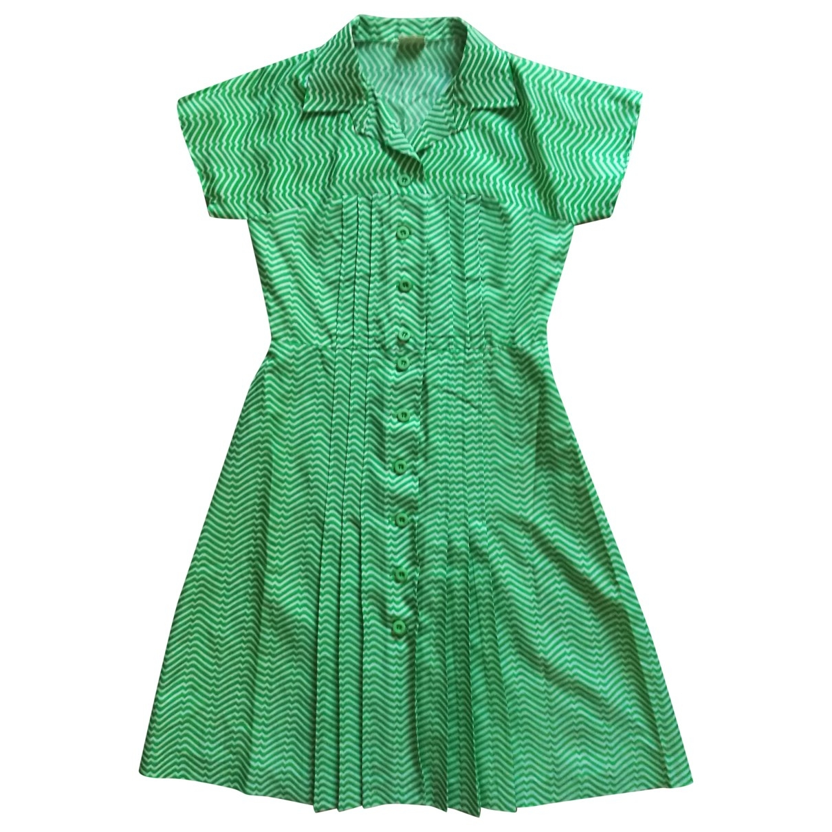 Non Signé / Unsigned \N Green dress for Women 44 FR