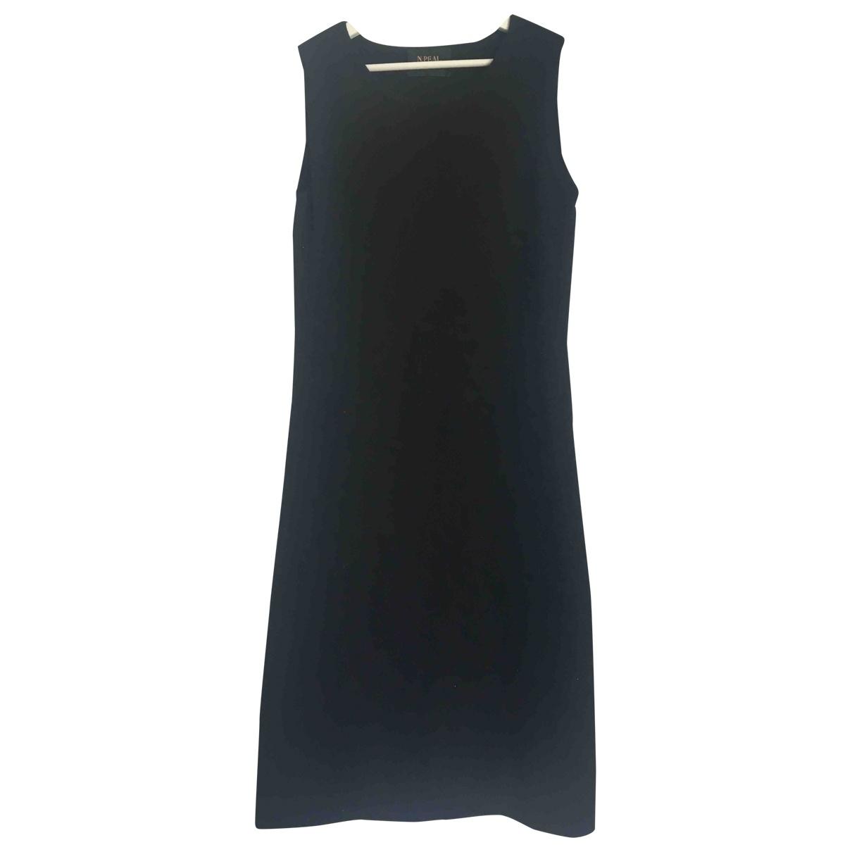 N. Peal \N Kleid in  Schwarz Kaschmir