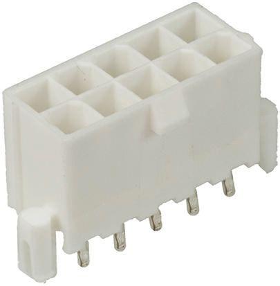 Molex , Mini-Fit Plus, 46015, 8 Way, 2 Row, Straight PCB Header (10)
