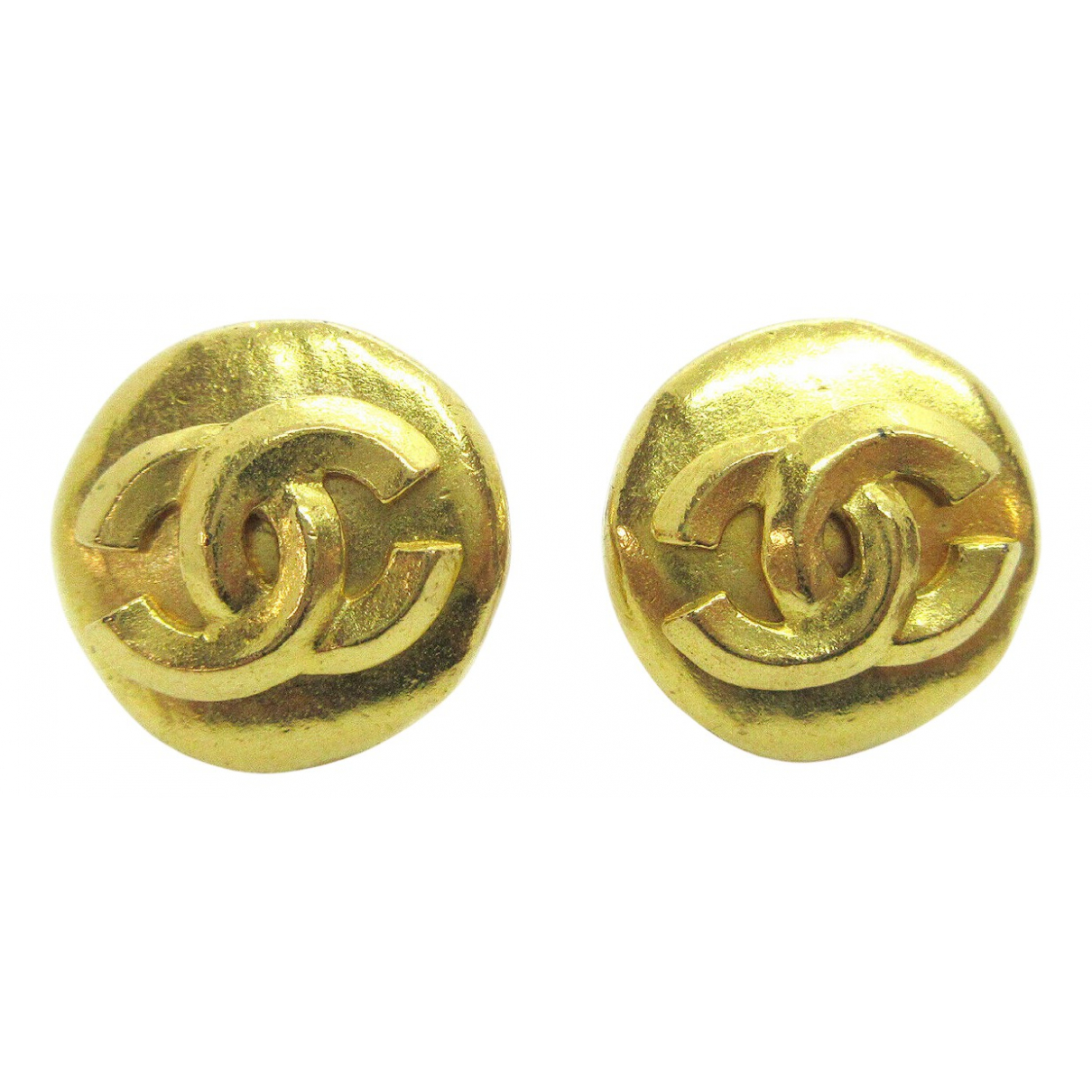 Chanel \N OhrRing in  Gold Metall