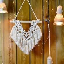 1pc Woven Heart Wall Hanging