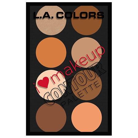 L.A. Colors I Heart Makeup Contour - 4.16 oz
