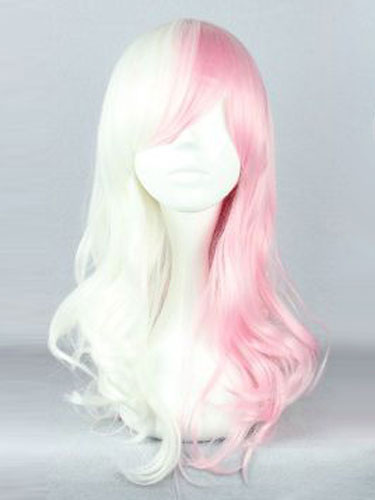 Milanoo Danganronpa Monomi Usami Cosplay Costume Human Girl Cosplay Wig Halloween