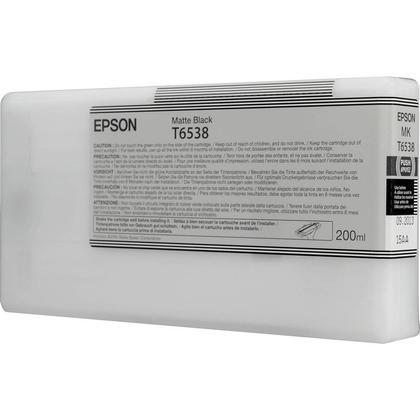 Epson T653800 Original Matte Black Ink Cartridge
