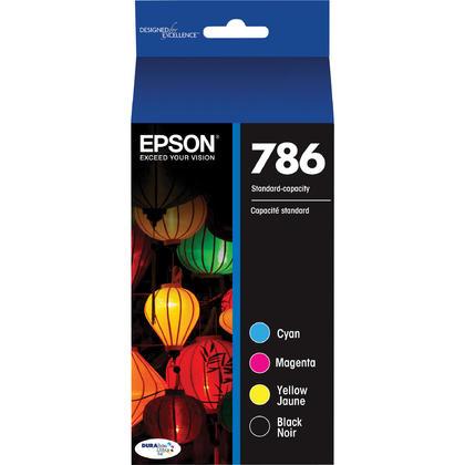 Epson 786 T786120-BCS cartouche d'encre originale noire et couleur combo