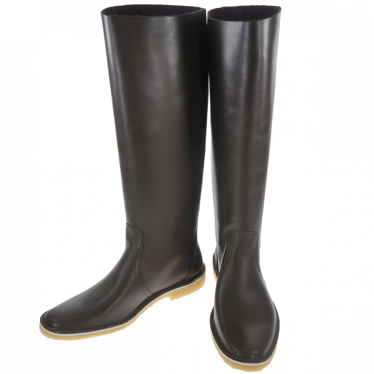 Pierre Hardy \N Brown Leather Boots for Women 35 EU
