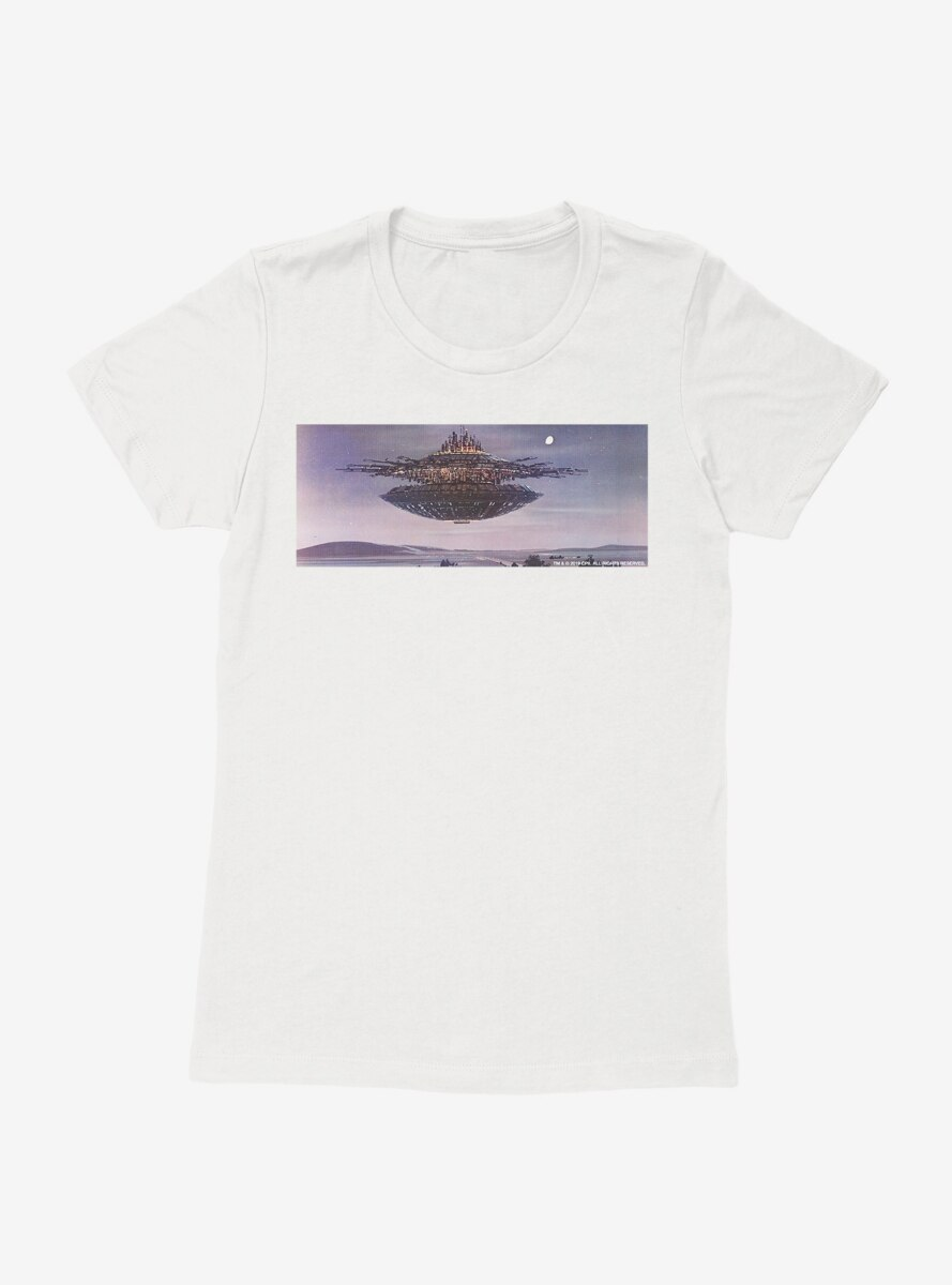 Close Encounters Of The Third Kind Vintage Mother Ship Womens T-Shirt