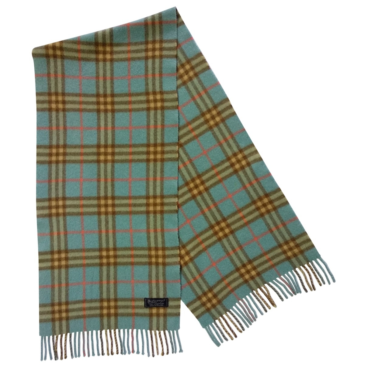 Burberry \N Turquoise Cashmere scarf for Women \N