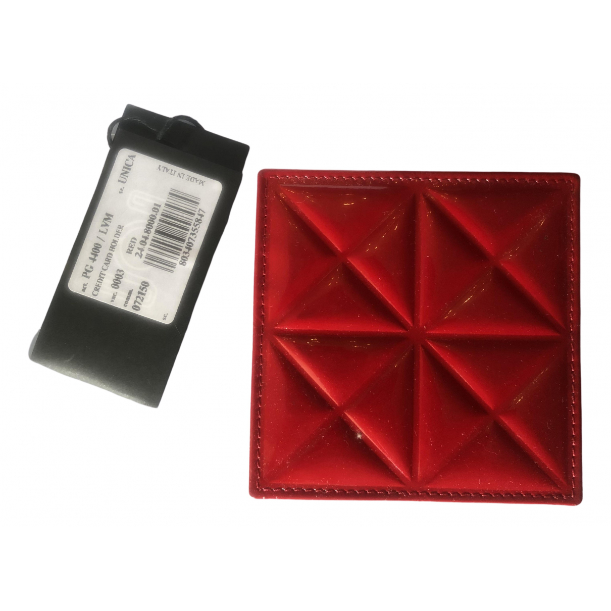 Gareth Pugh \N Red Leather Purses, wallet & cases for Women \N