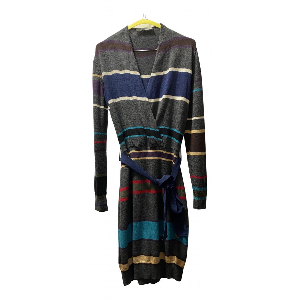 Moschino Love \N Kleid in  Bunt Wolle