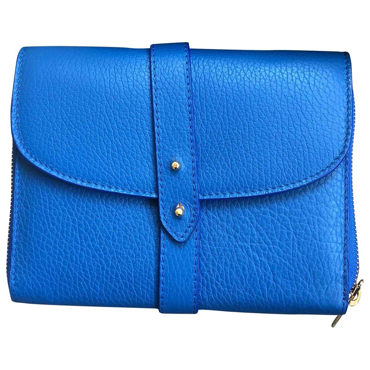 Meli Melo - Portefeuille   pour femme en cuir - bleu