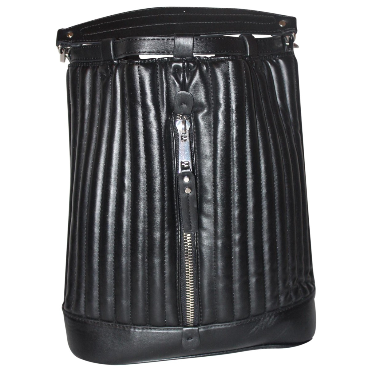Zara \N Black Leather handbag for Women \N