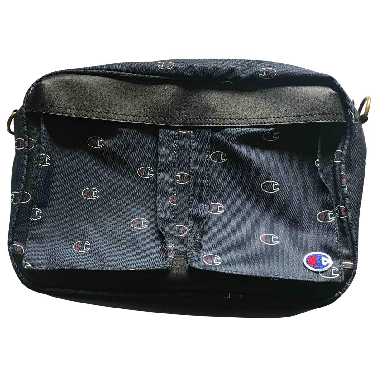 Champion \N Blue Small bag, wallet & cases for Men \N