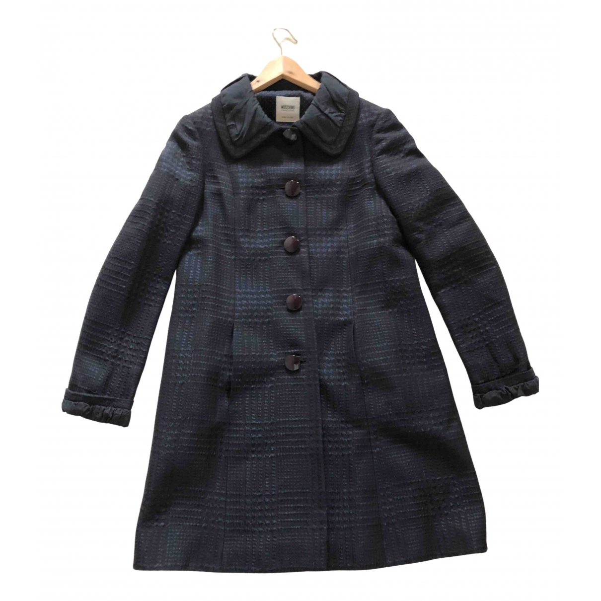 Moschino Cheap And Chic \N Navy coat for Women 42 IT