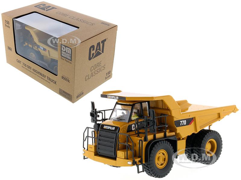 CAT Caterpillar 770 Off Highway Dump Truck with Operator