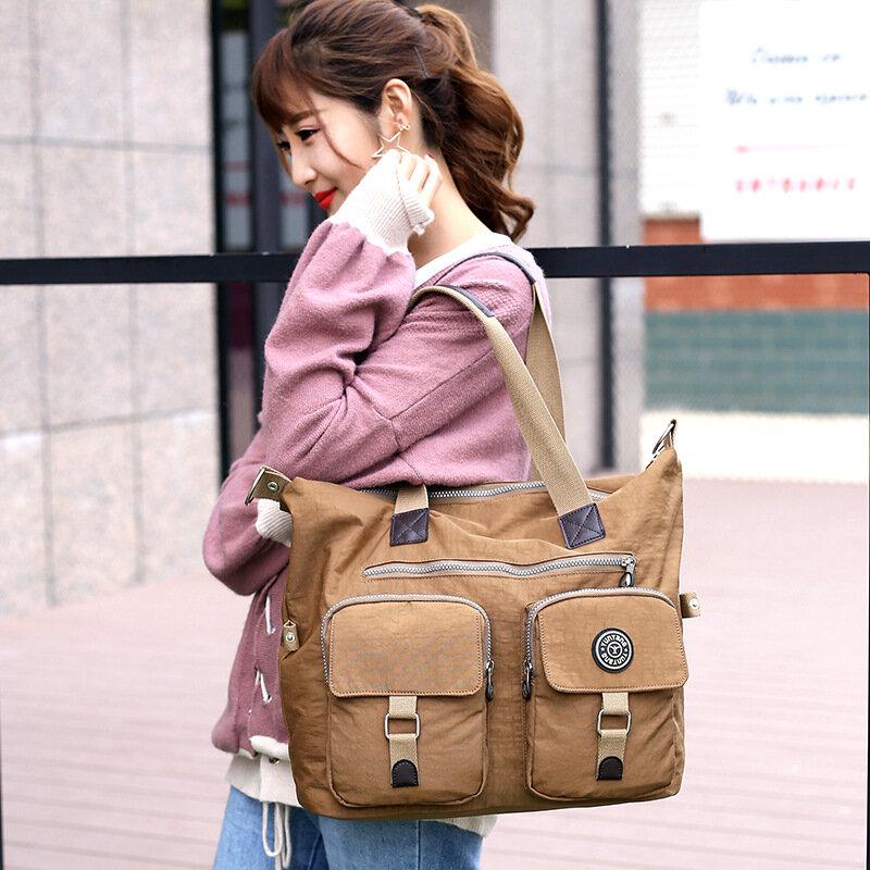 Handbag Mummy Bag 2018 Autumn New Women Bag Large Capacity Travel Handbag Waterproof Ms. Shoulder Bag