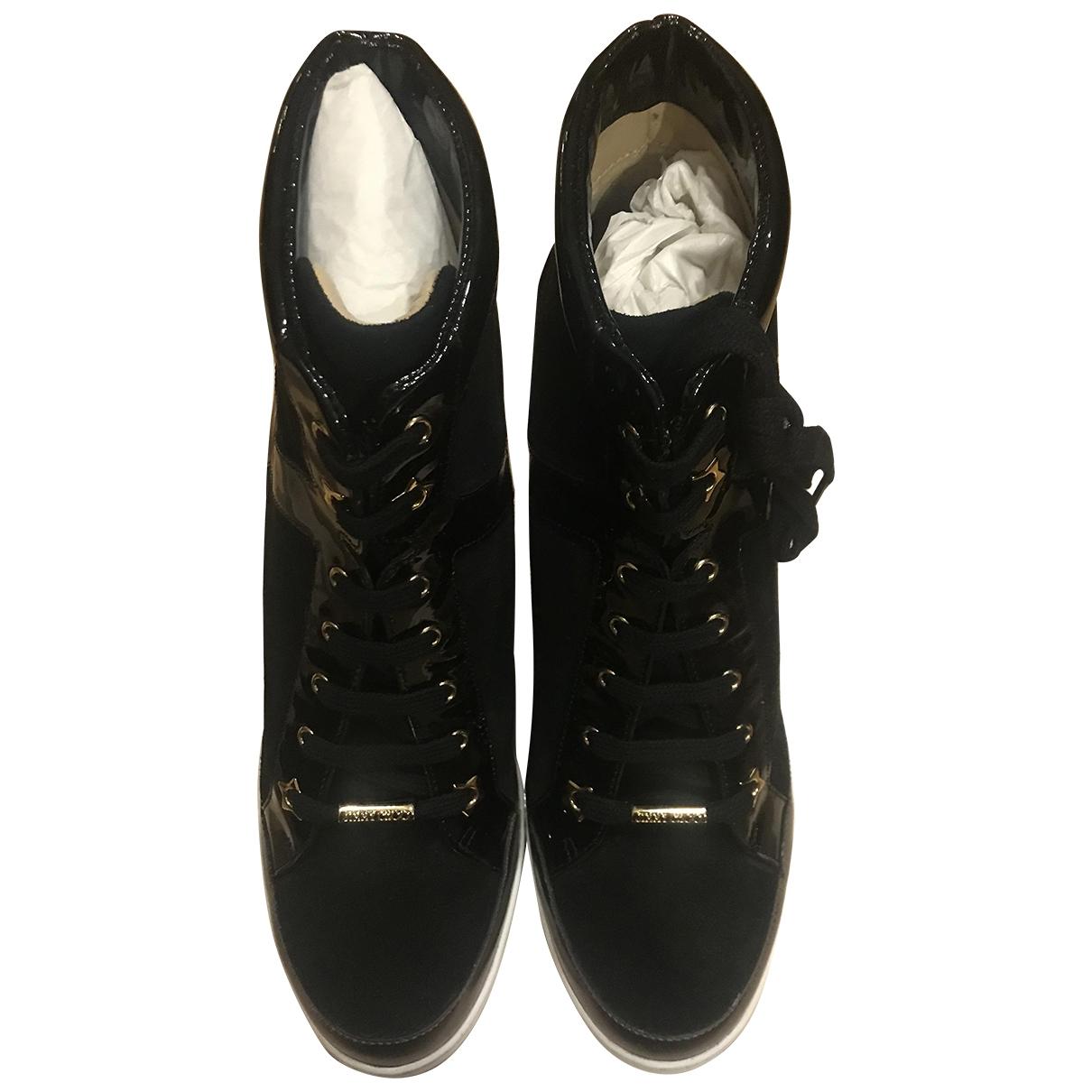 Jimmy Choo \N Sneakers in  Schwarz Veloursleder