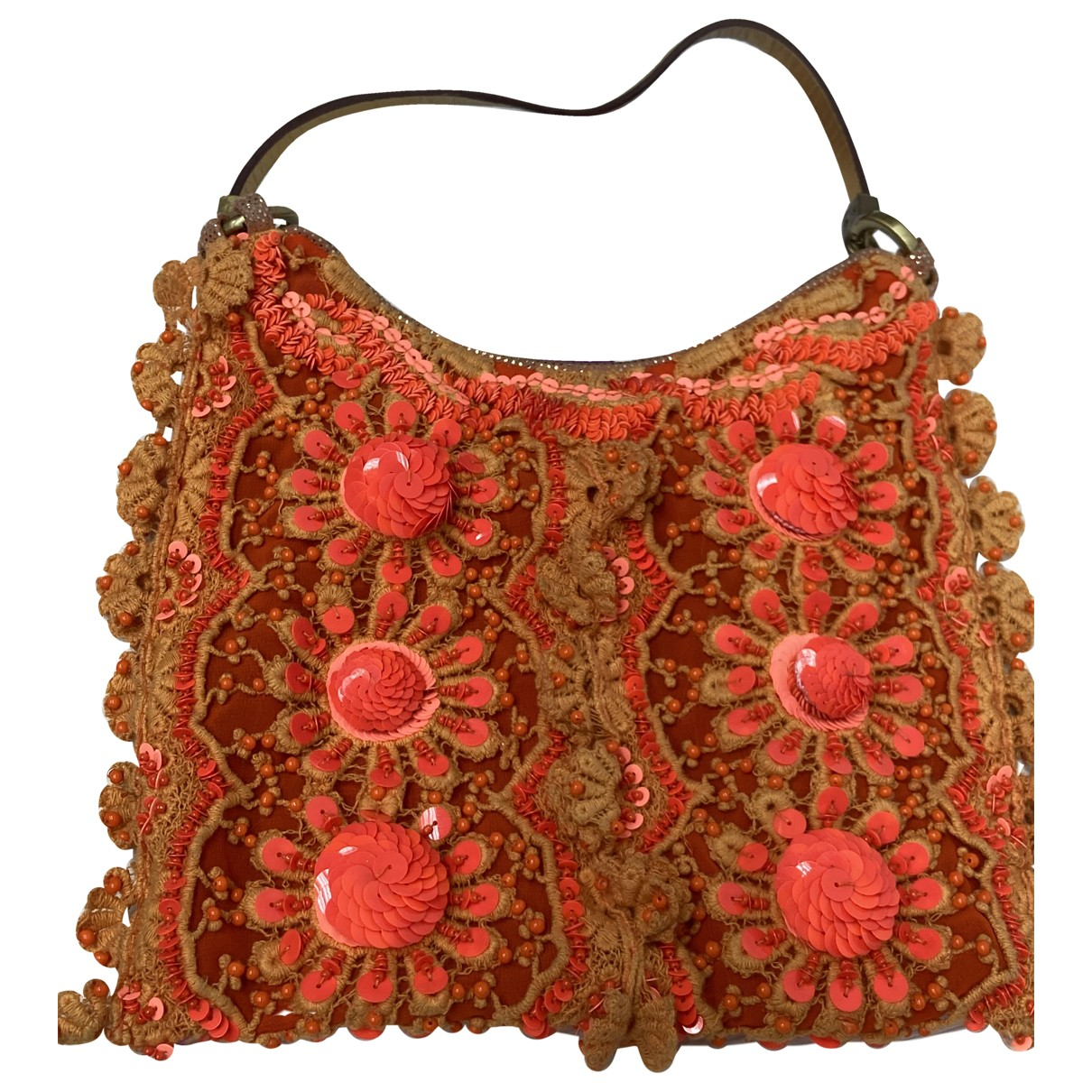 James Perse \N Orange Cloth handbag for Women \N