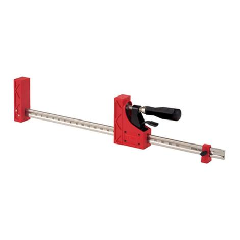 Jet 82 In. Parallel Clamp Package of 2 As Shown in Image