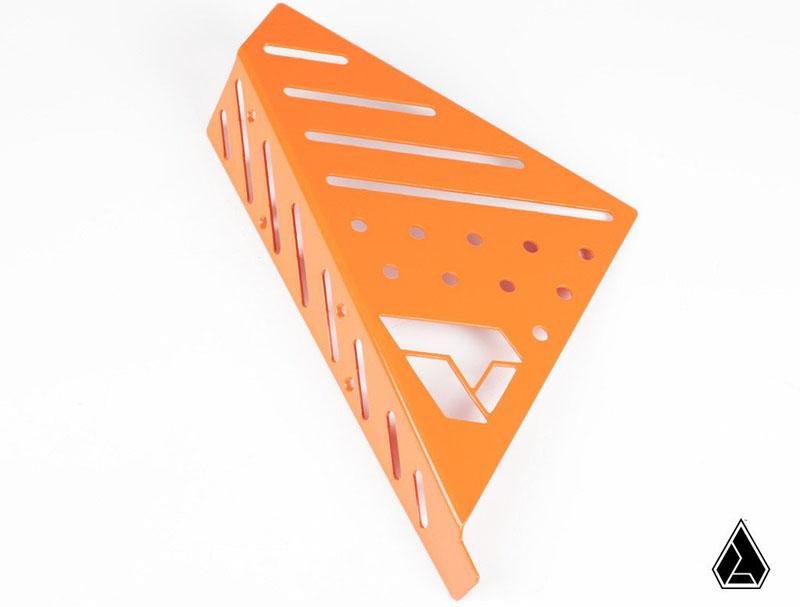 Assault Industries AISDP5-OM Drivers Dead Pedal Cover Kit Orange Polaris Slingshot 15-17