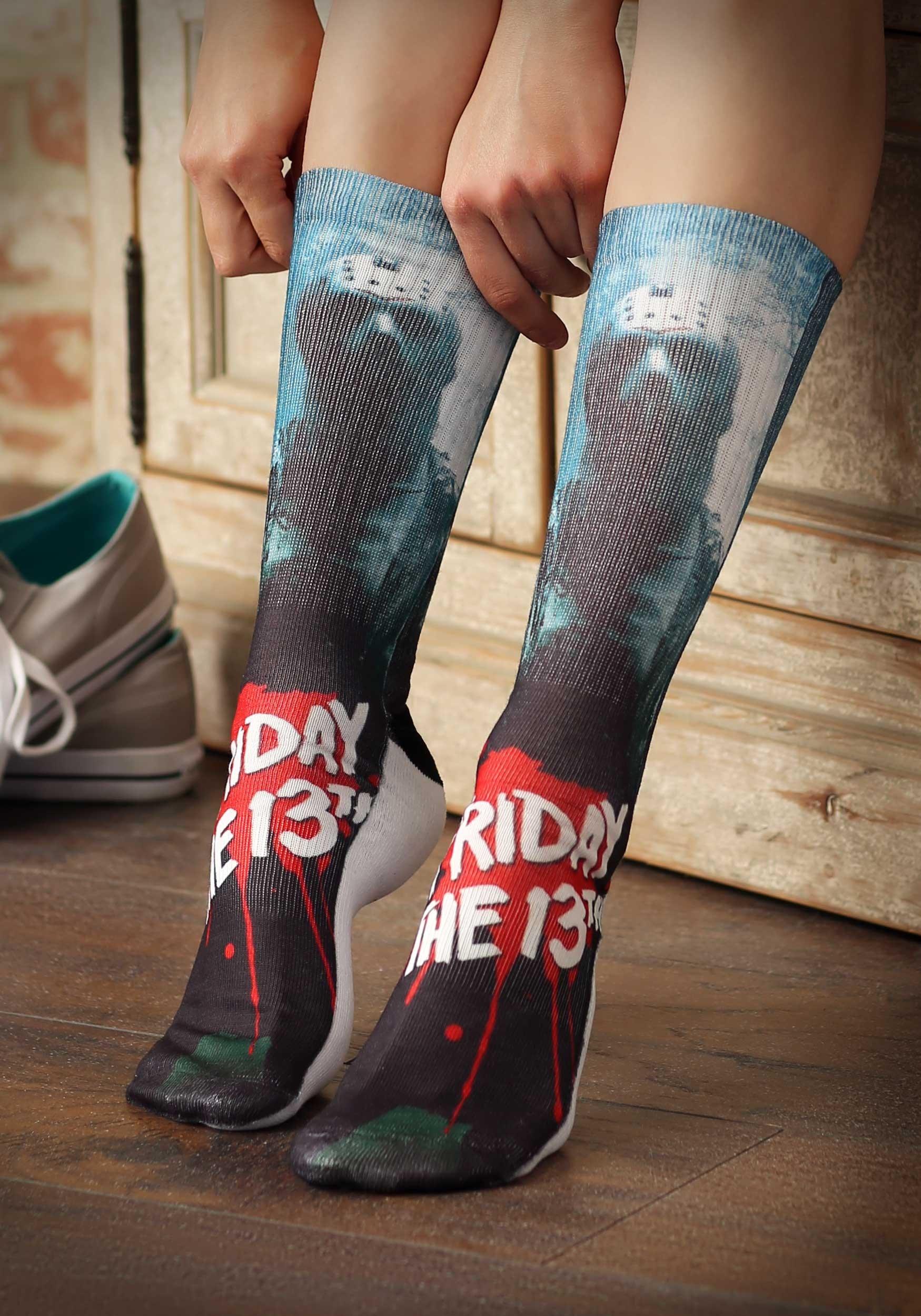 Friday the 13th Men's Jason Crew Socks