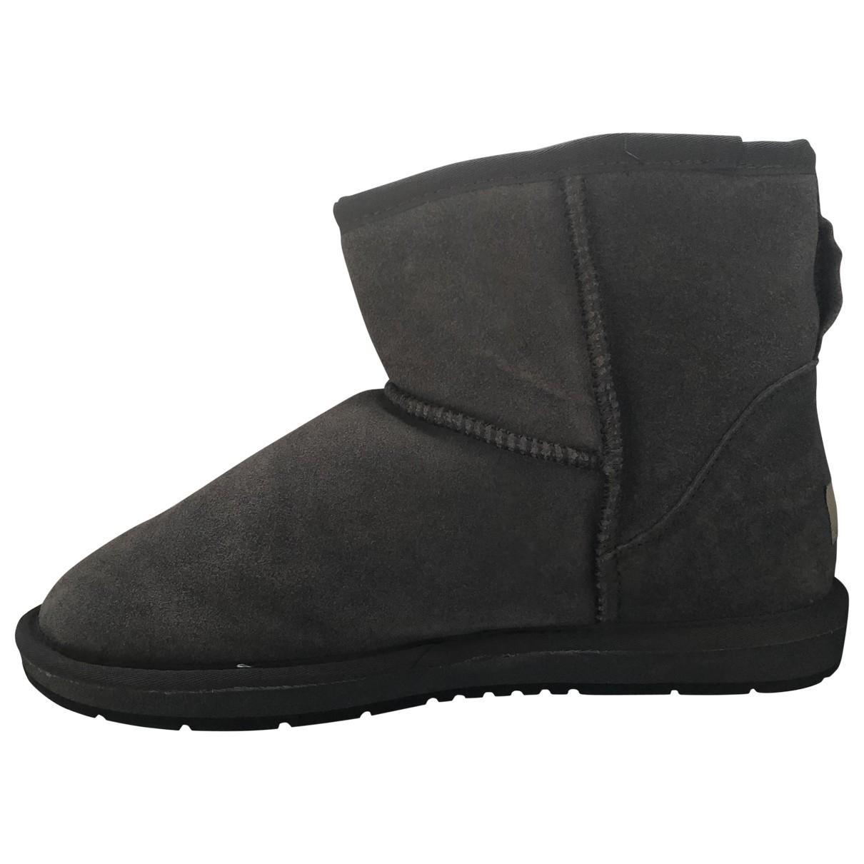Ugg - Boots   pour femme en suede - gris