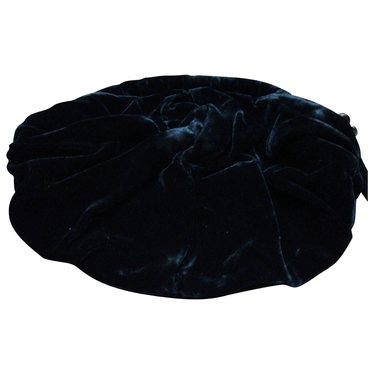 D&g - Pochette   pour femme en velours - noir