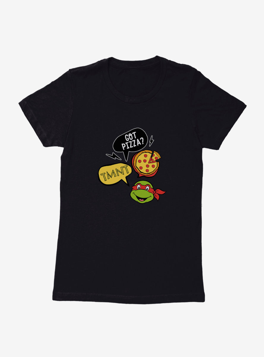 Teenage Mutant Ninja Turtles Raph Says Womens T-Shirt