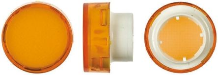 Saia-Burgess Orange Round Push Button Lens for use with TP2 Series (5)