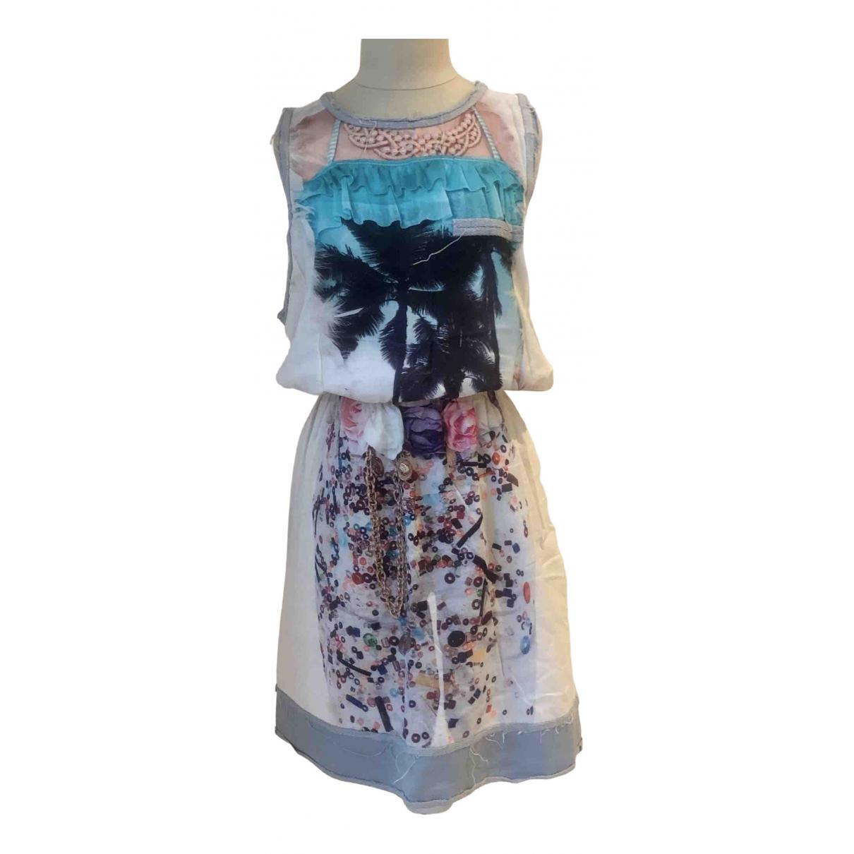 Venera Arapu \N Kleid in  Weiss Baumwolle