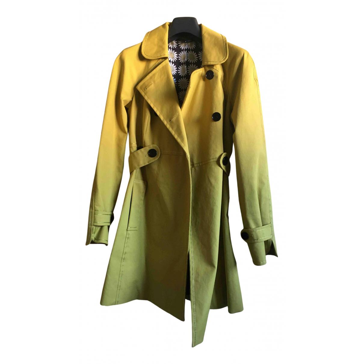 Paul Smith - Veste   pour femme en coton - jaune