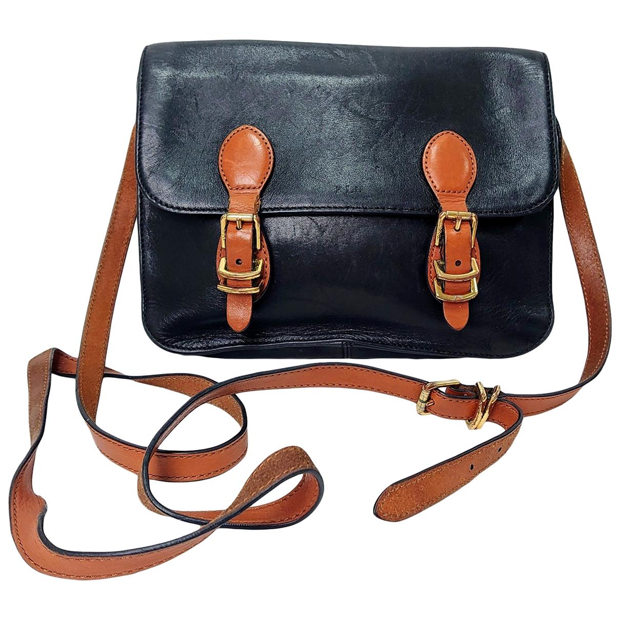 Lauren Ralph Lauren \N Black Leather handbag for Women \N