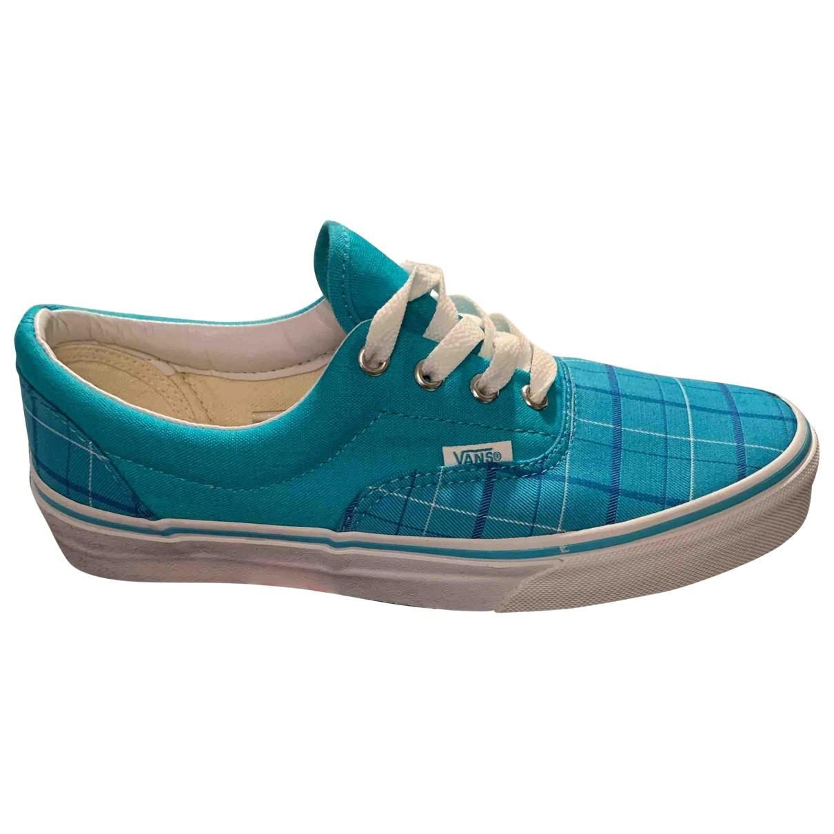 Vans - Baskets   pour femme en toile - bleu