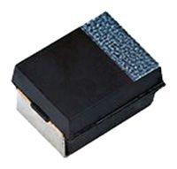 Vishay Tantalum Capacitor 100μF 6.3V dc Polymer Solid ±20% Tolerance , T55 (10)