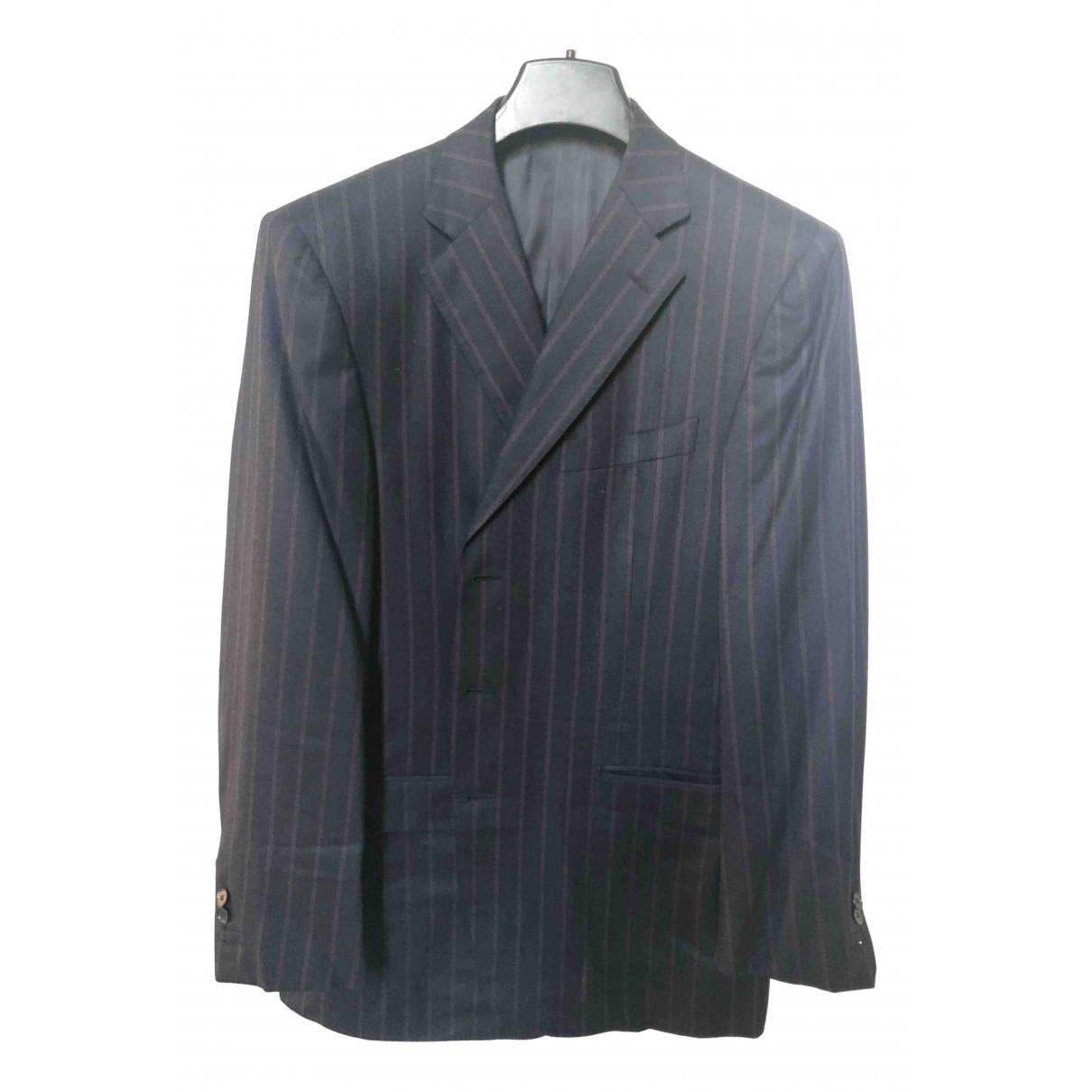 Ermenegildo Zegna - Costumes   pour homme en laine - bleu