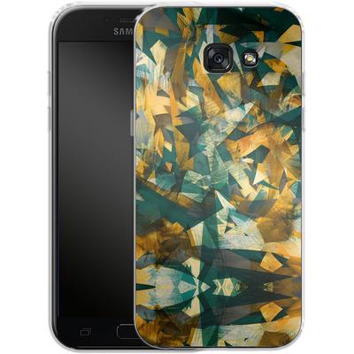 Samsung Galaxy A5 (2017) Silikon Handyhuelle - Raw Texture von Danny Ivan