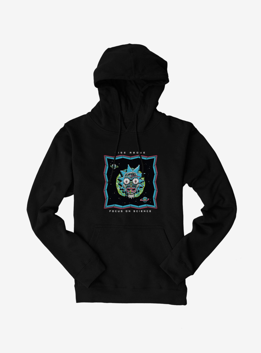 Rick And Morty Rise Above Hoodie