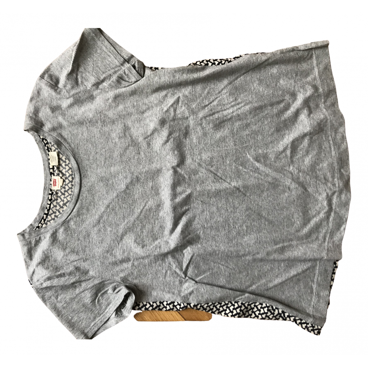 Levis \N Grey Cotton  top for Women S International