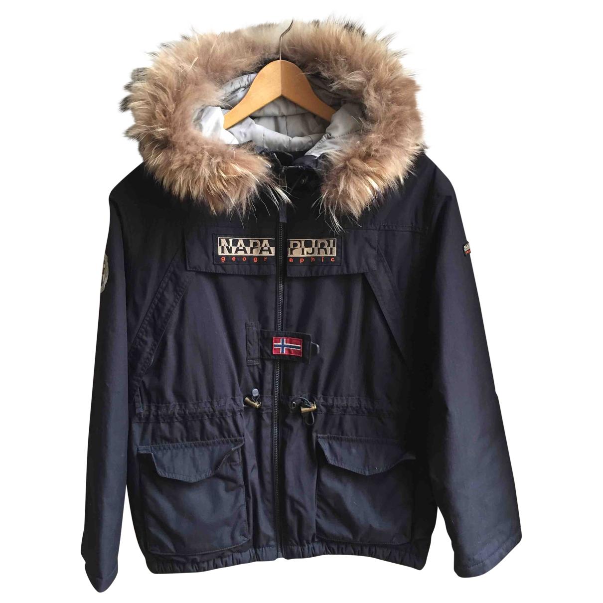 Napapijri \N Black jacket & coat for Kids 16 years - M FR