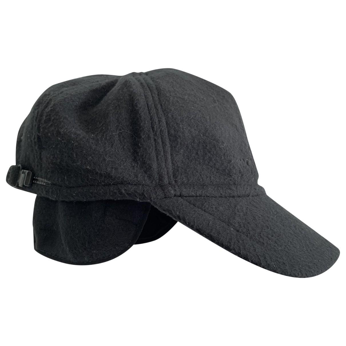 Moncler - Chapeau & Bonnets   pour homme - noir