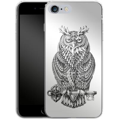 Apple iPhone 6s Plus Silikon Handyhuelle - Great Horned Owl von BIOWORKZ