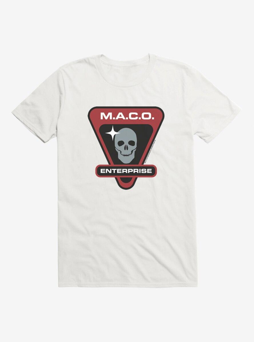 Star Trek M.A.C.O. Enterprise Skull T-Shirt