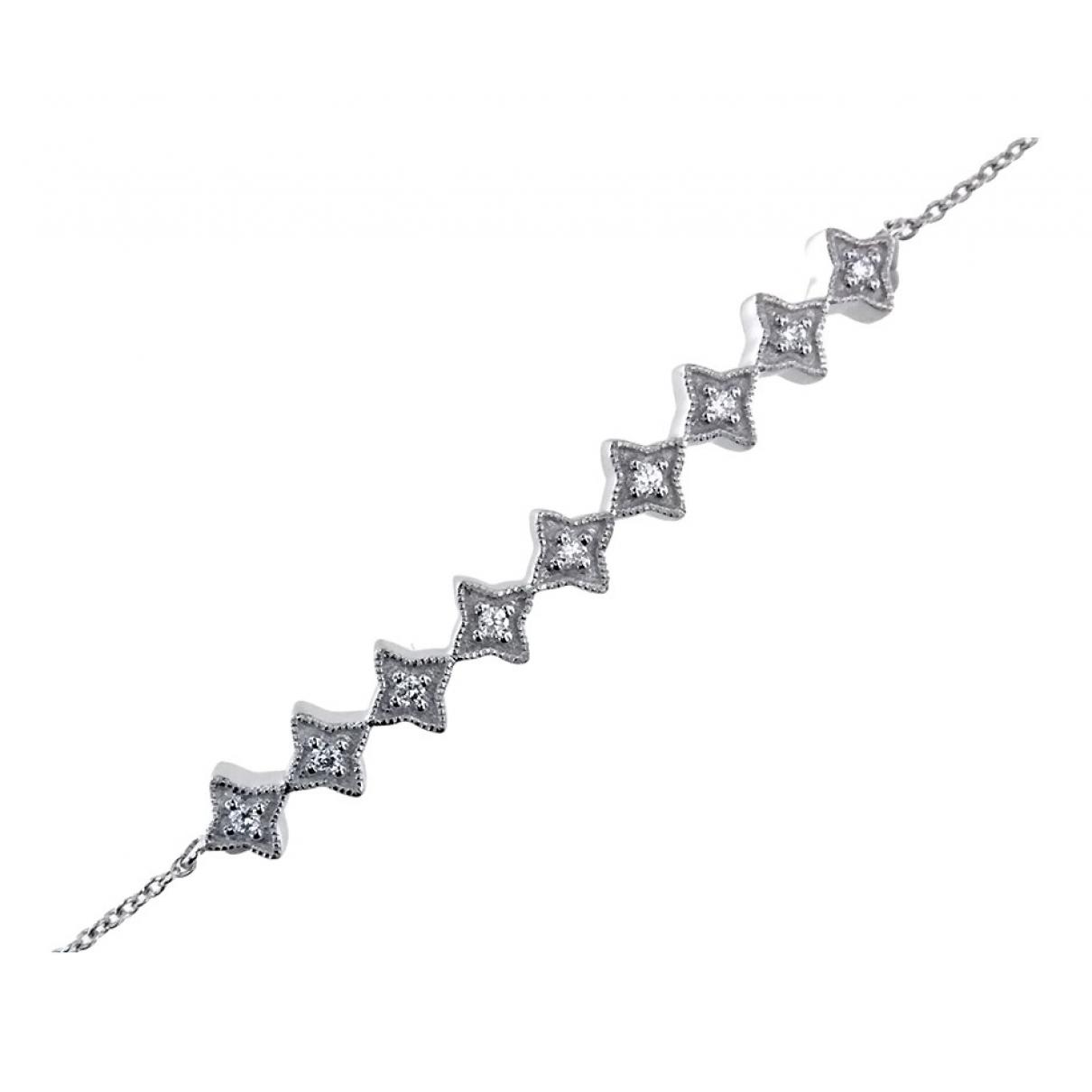 - Bracelet   pour femme en or blanc - blanc