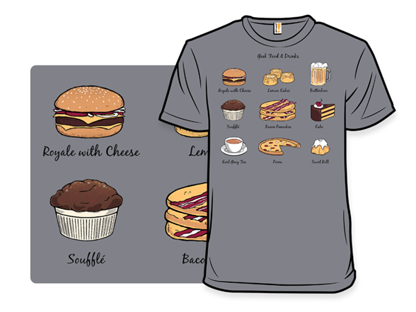 Geek Food T Shirt