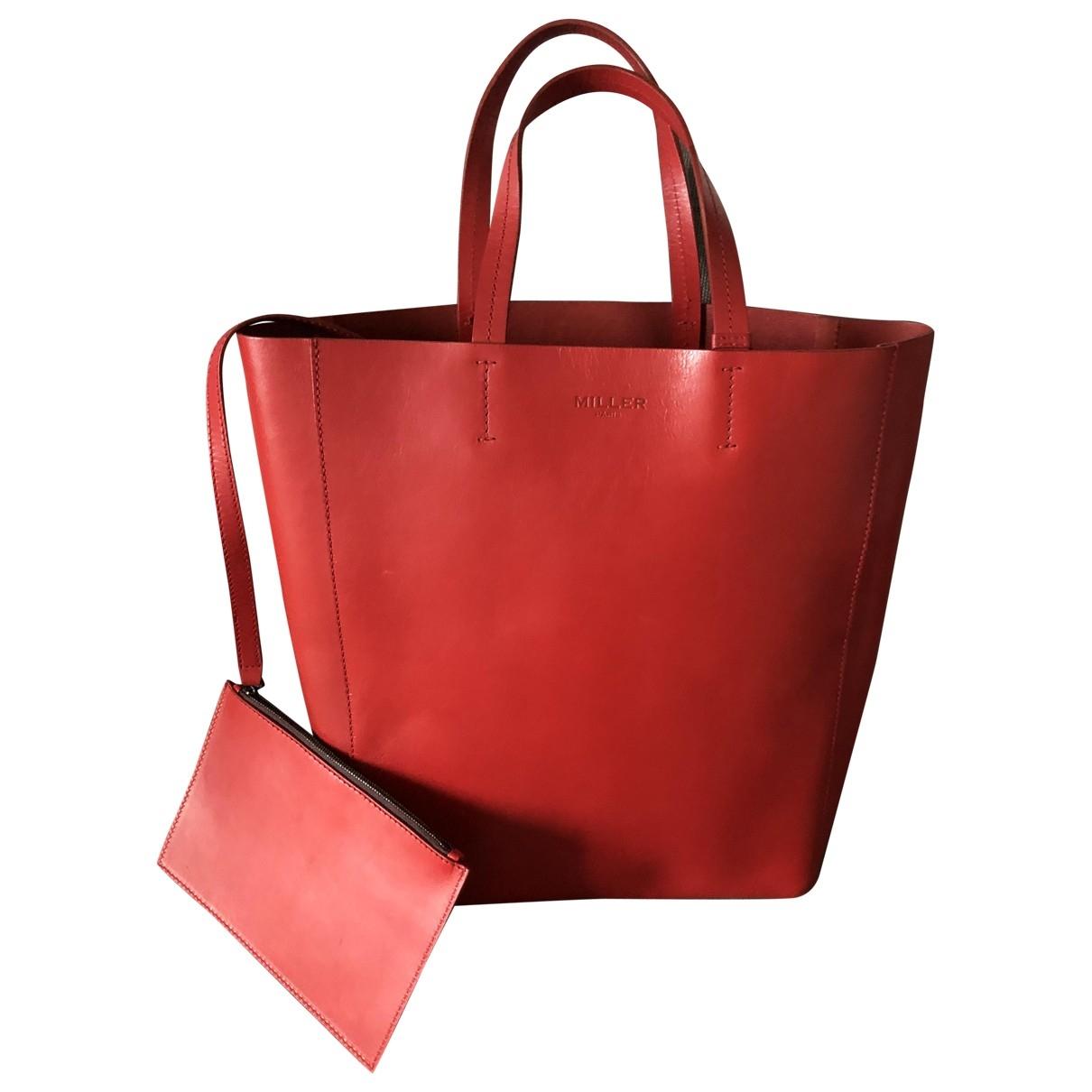 Miller \N Red Leather handbag for Women \N