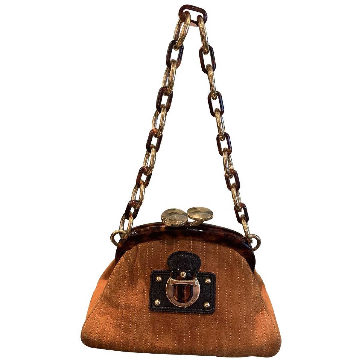 Marc Jacobs \N Camel Suede handbag for Women \N