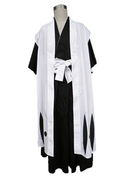 Milanoo Halloween Bleach Komamura Sajin Cosplay Disfraz