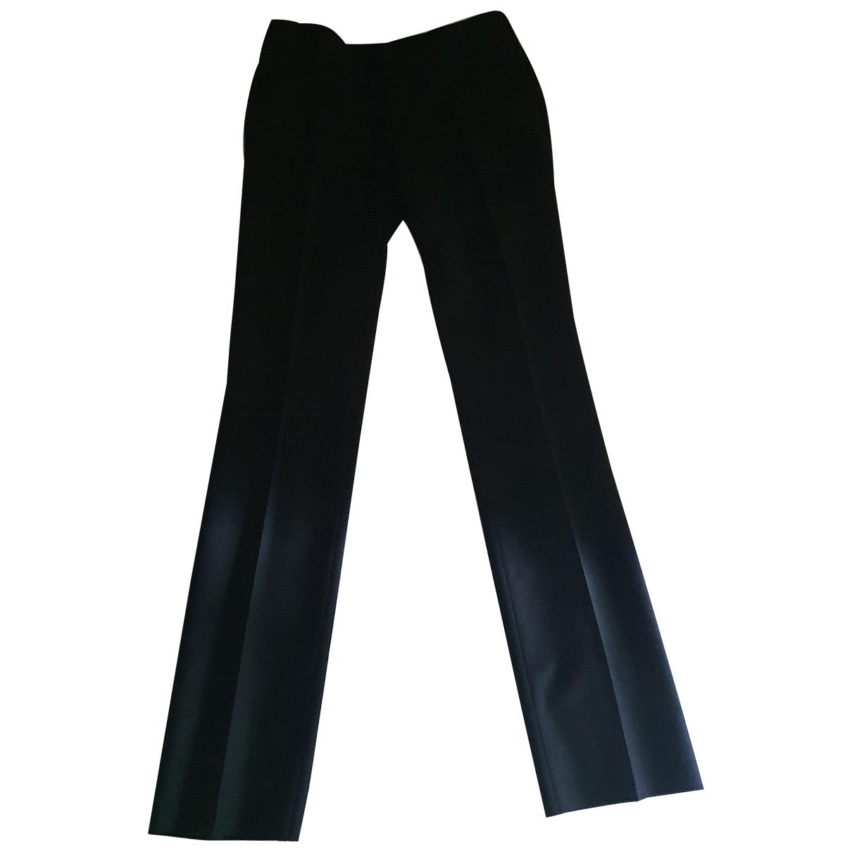 Karl Lagerfeld \N Blue Wool Trousers for Women M International