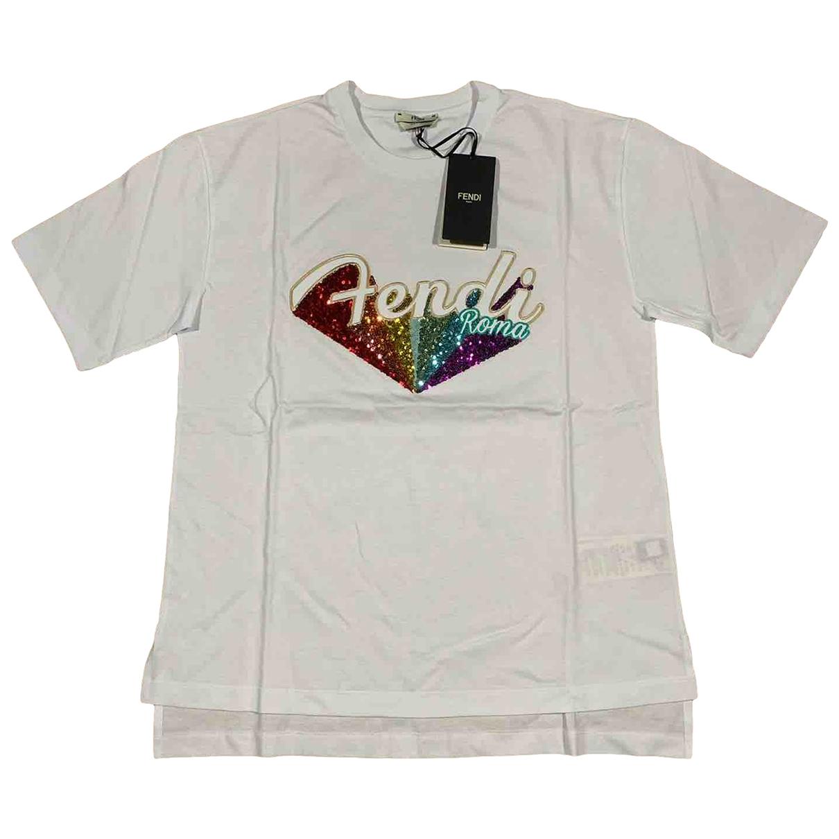 Fendi \N Multicolour Cotton  top for Women 42 IT