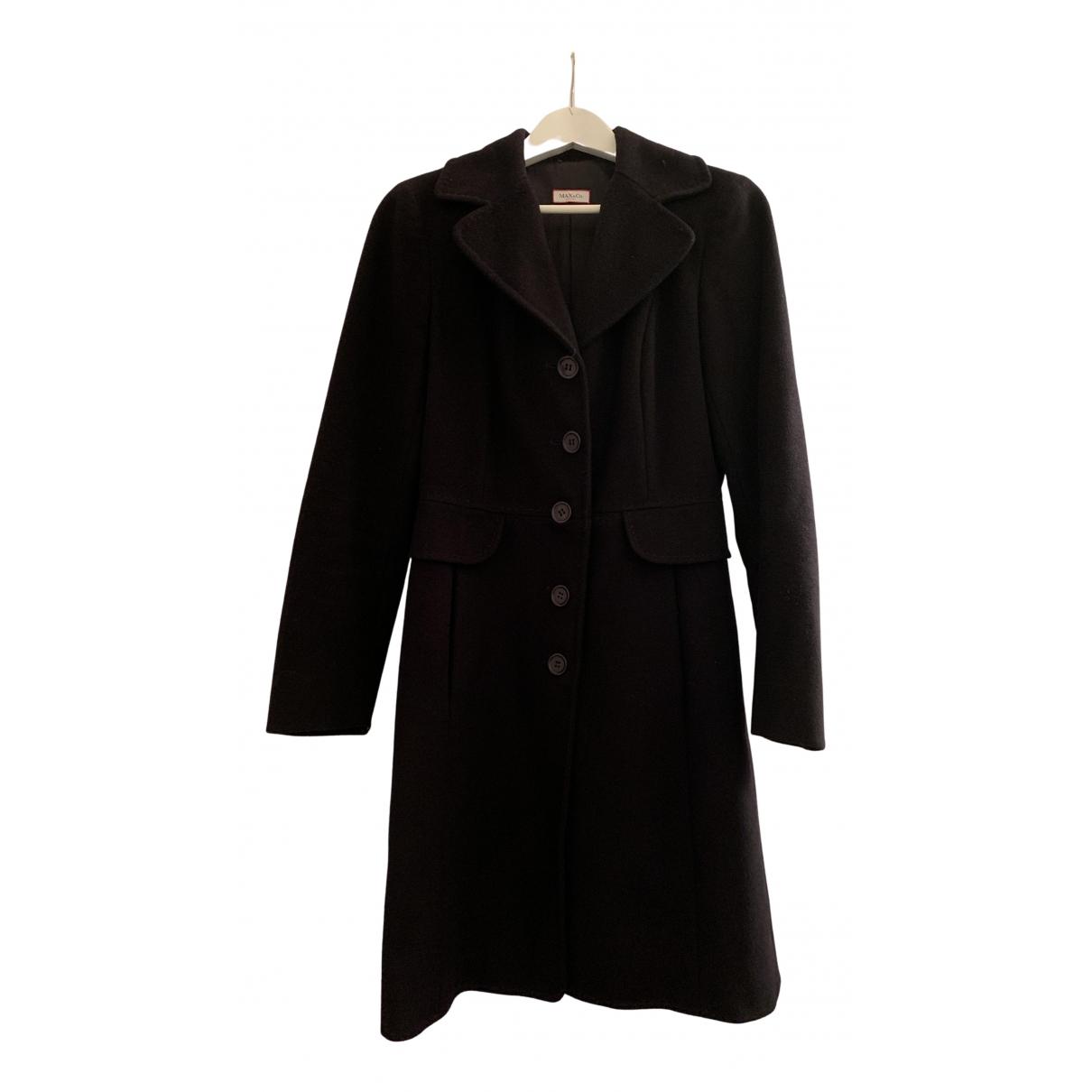 Max & Co - Manteau   pour femme en laine - noir